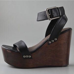 "Joie ""Higher and Higher"" Platform Wedge Sandal 37"